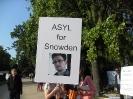 Demonstration gegen PRISM und für Edward Snowden. Hamburg, 11.07.2013_6